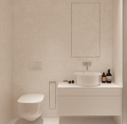 mẫu thiết kế nhà vệ sinh đơn giản