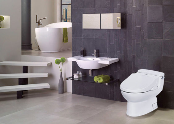 Nhà vệ sinh, phòng tắm trang bị đầy đủ