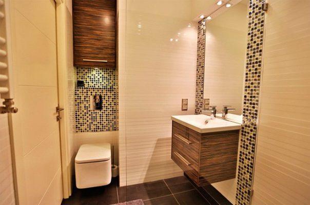 phòng tắm diện tích nhỏ
