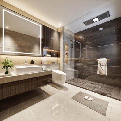 mẫu thiết kế nhà tắm
