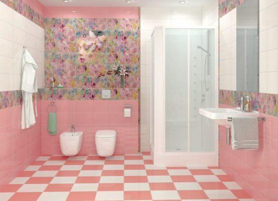 Phòng tắm màu sắc