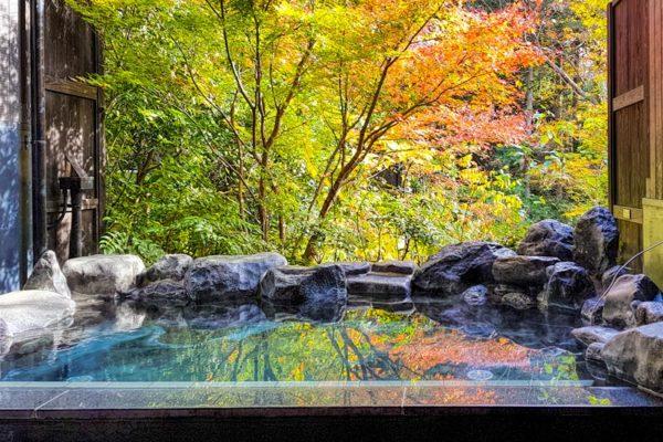 Tắm bồn Onsen